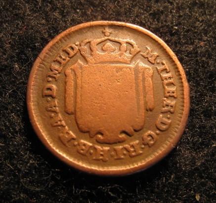Mezzo soldo 1777 Marie-Thérèse d'Autriche (1740-1780)- MILAN Mezzo_12