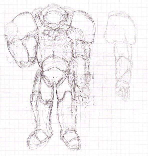 dessin d'Aryko - Page 6 Marine10
