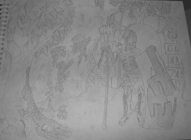 dessin d'Aryko - Page 4 Skulln11