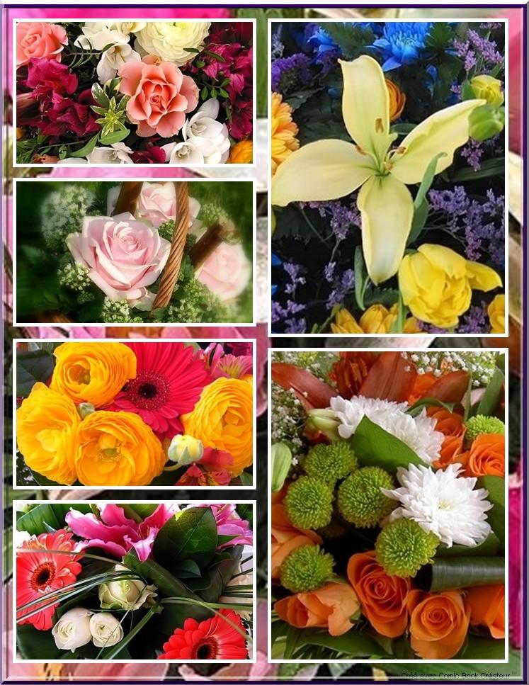 De superbes fleurs en BD 110