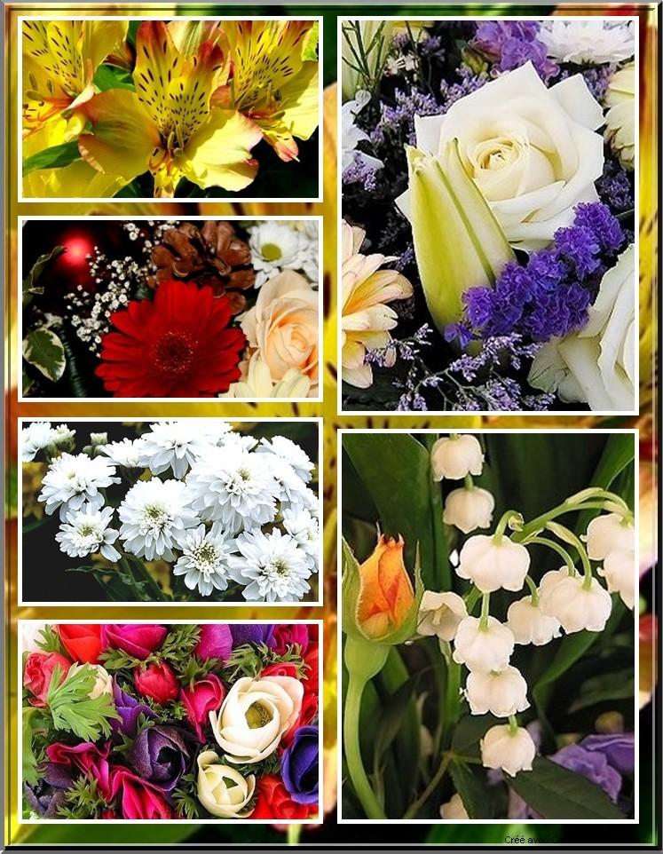 De superbes fleurs en BD 5110