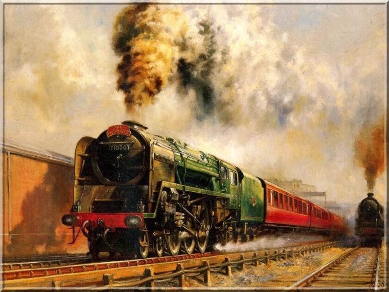 superbes photos de trains Howard12