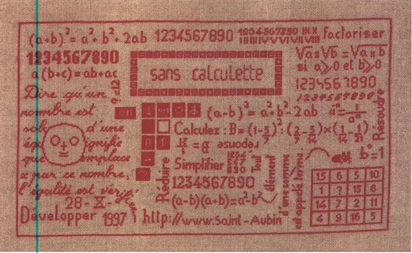 Les nombres de MTSA Grille10