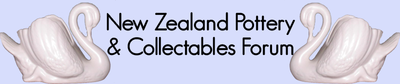New Zealand Pottery and Collectables forum