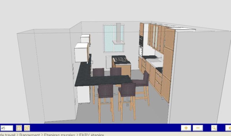 quelle couleur pour les murs de l'entrée, salle à manger, cuisine svp ? Plan4_12
