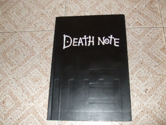 Tutorial para hacerte tu propia Death Note [Made for me] 210