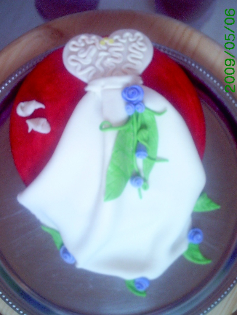 gâteaux costumes de mariés 00116