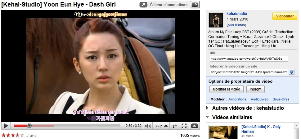 [K-music] Yoon Eun Hye - Dash Girl (My Fair Lady) Dash_g10