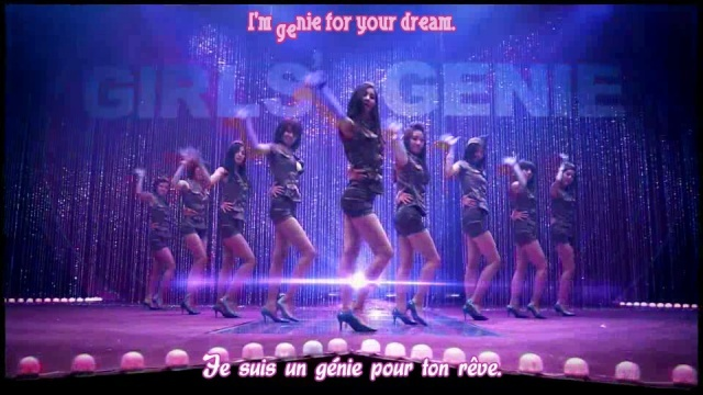 [K-music + J-music] Girls' Generation (SNSD) - Tell Me Your Wish (Genie) Vlcsna21