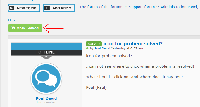 icon for probem solved? Captu364