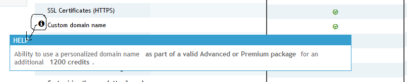 Where is the option to renew domain name? Captur60