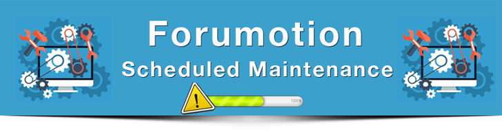 Maintenance is scheduled Monday 7th September Fmm10
