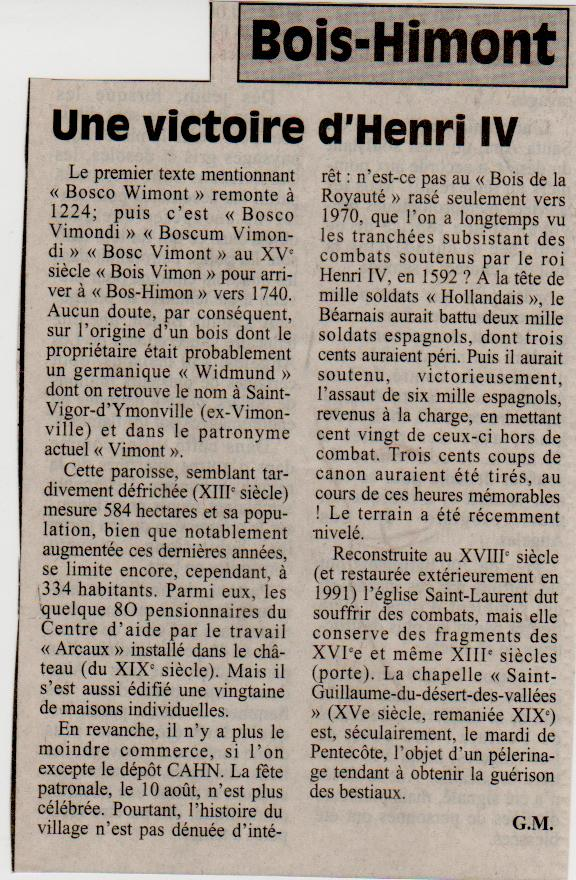 Histoire des communes - Bois-Himont Bois-h10