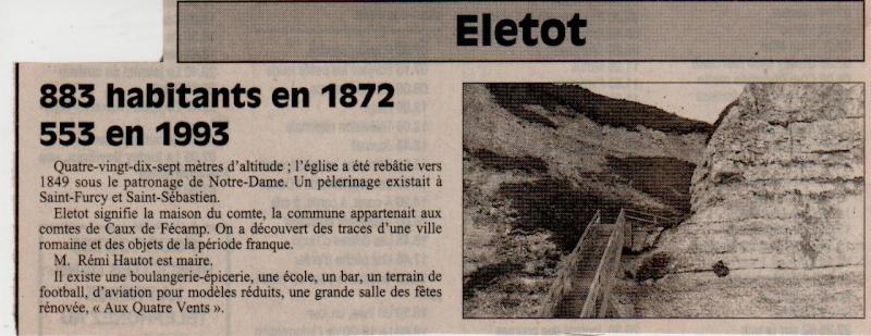 Histoire des communes - Eletot Eletot13
