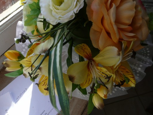 confection d'un bouquet de mariée P1020515