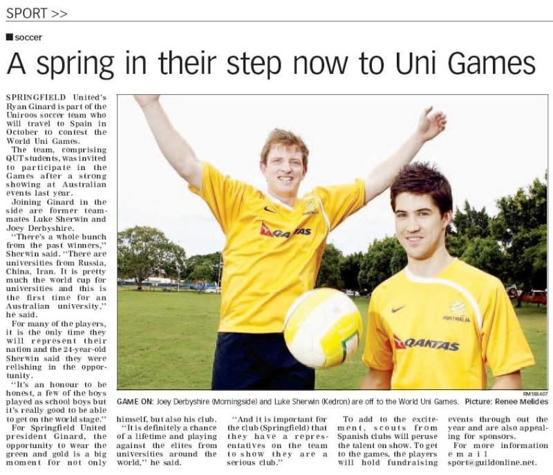 Uniroos & SUFC Alumni Uniroo10