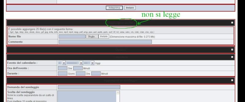 Cambiare colore testo su intestazione  Proble10