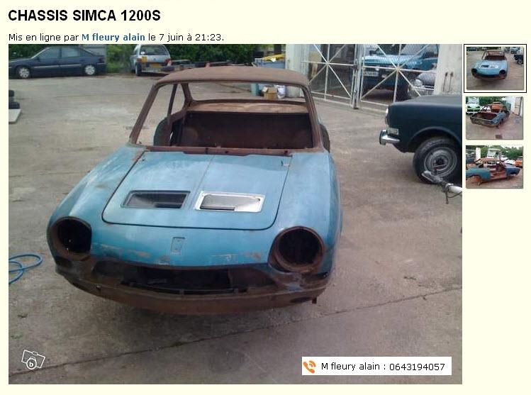 Caisse Simca 1200S 10-06-10