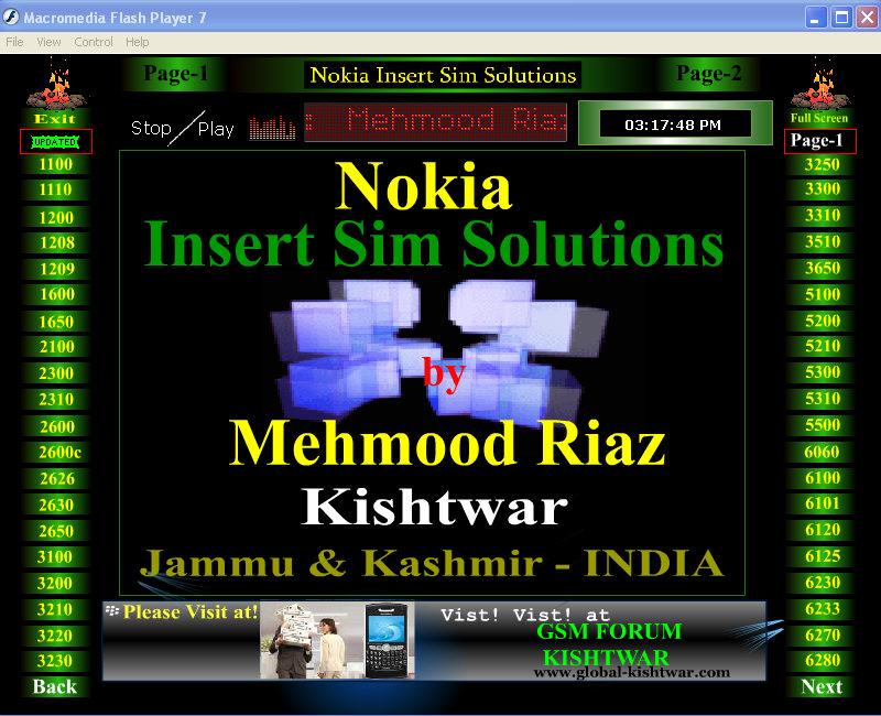New Update Nokia Insert Sim Solution 2whjr013