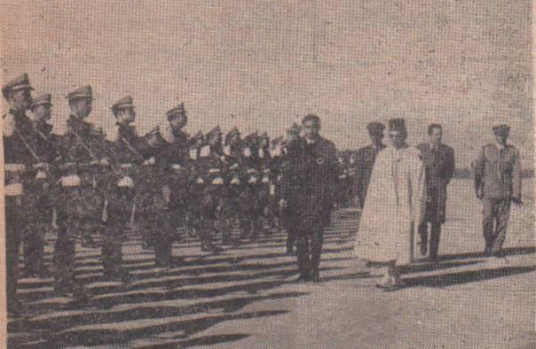 صور  تذكارية  للمغفور له جلالة الملك  الحسن الثاني Image110