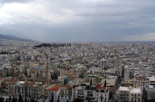 Grèce : les forêts du mont Hymette succombent à l'urbanisation d'Athènes Athene10