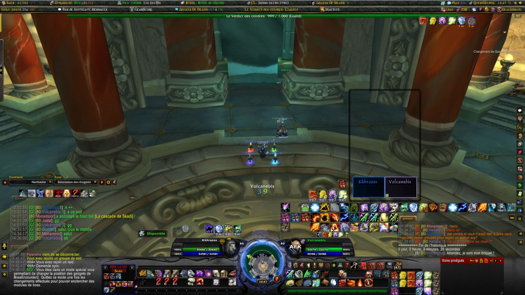 L'interface du heal kamikaze Wowscr49
