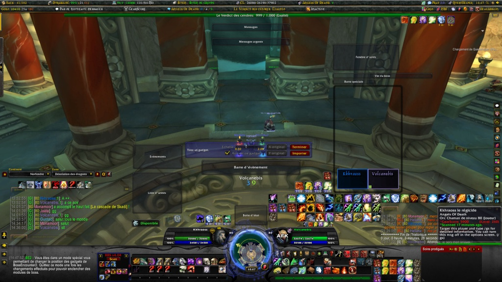 L'interface du heal kamikaze Wowscr50