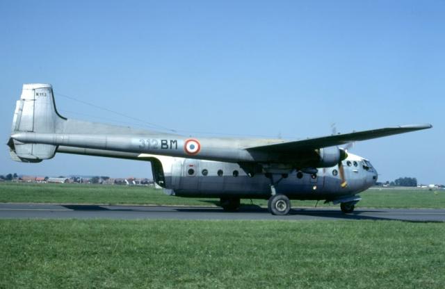 Noratlas n°113 - Mis en service le 20 août 1956 - Fin de service le 18 mai 1987 312-bm10
