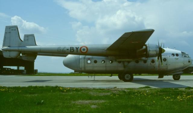 Noratlas n° 32 - Mis en service le3août 1954 - Fin de service le 5 mars 1984 64-by-10