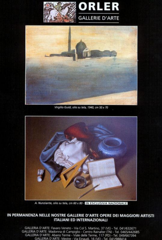 ARCHIVIO DELLE PUBBLICITA DEL MAESTRO SUI MENSILI D'ARTE - Pagina 2 0310