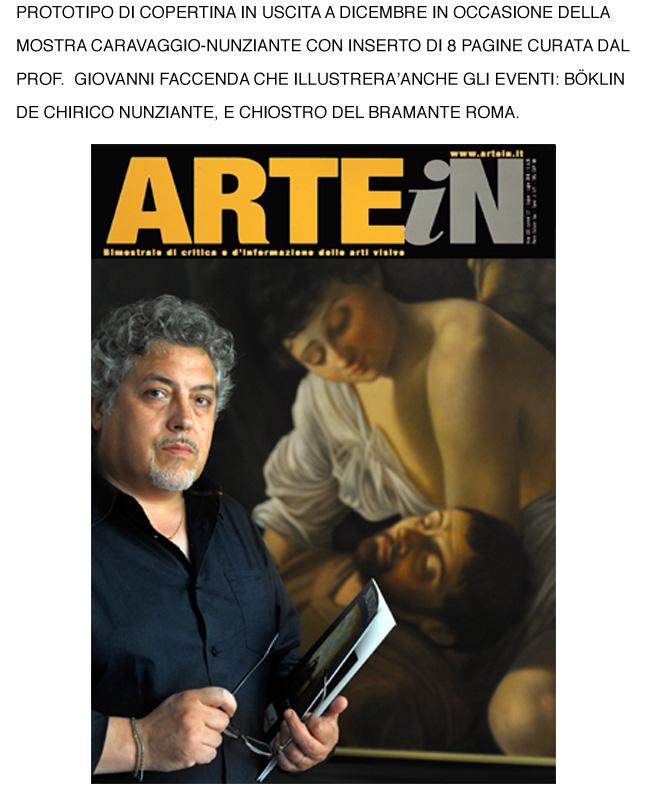 ARTE IN-DICEMBRE 2010 - Nunziante in copertina 16061011