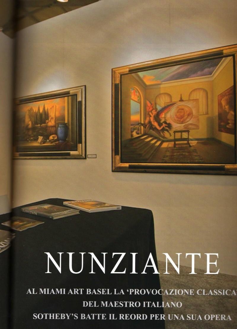 """NUNZIANTE IN COPERTINA SU """"ITALIA ARTE"""" 2009_111"""
