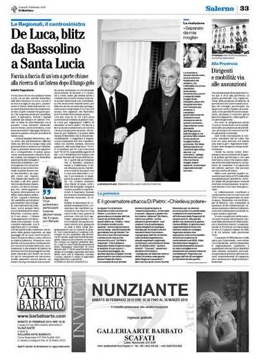 MOSTRA PERSONALE ALLA GALLERIA D'ARTE BARBATO (SA) - Pagina 2 2010_015