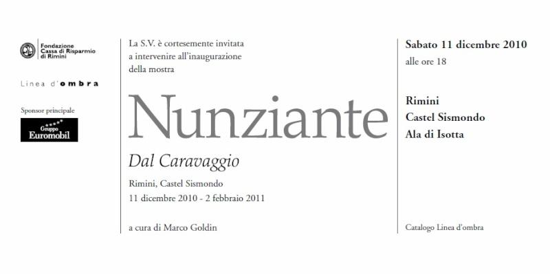 EVENTO SPECIALE A RIMINI, CASTEL SISMONDO: 11 DICEMBRE 2010-30 GENNAIO 2011 - Pagina 3 2010_r11