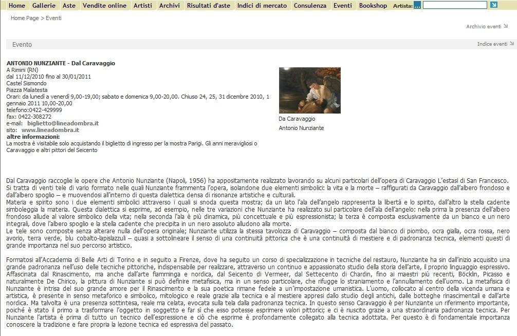EVENTO SPECIALE A RIMINI, CASTEL SISMONDO: 11 DICEMBRE 2010-30 GENNAIO 2011 - Pagina 2 2010da11