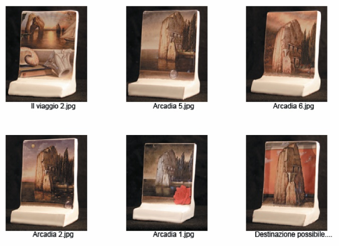 I TOTEM: Maioliche 15x10 ESEMPLARI UNICI - Pagina 2 Totem110