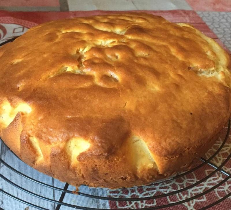 Gâteau au lait et à la semoule de Mim  45108611