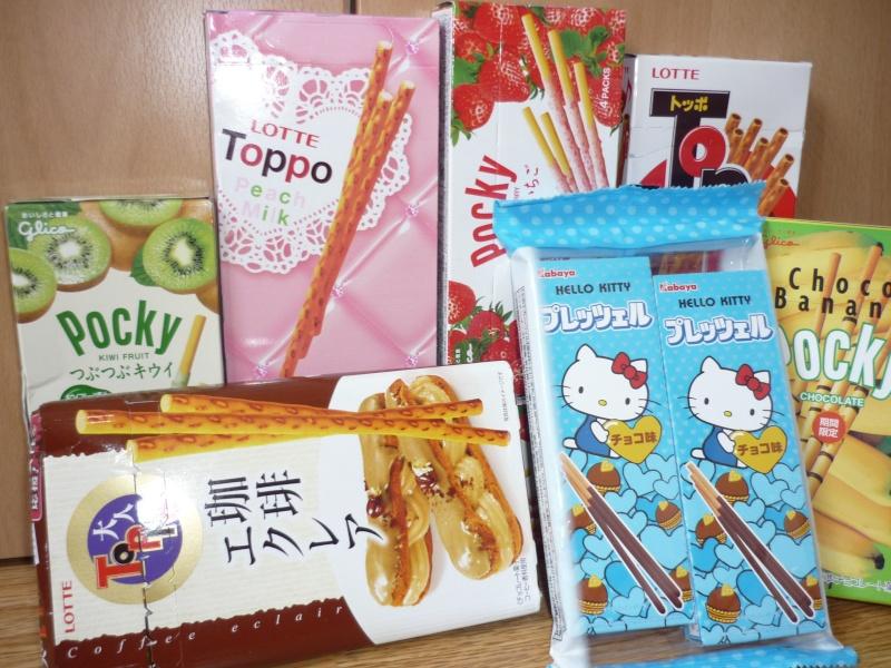 Di ritorno dal Giappone ecco i miei acquisti! Pocky10