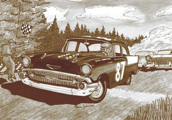 Chevrolet 55 Sport Coupe Blueprint Bw_sep10