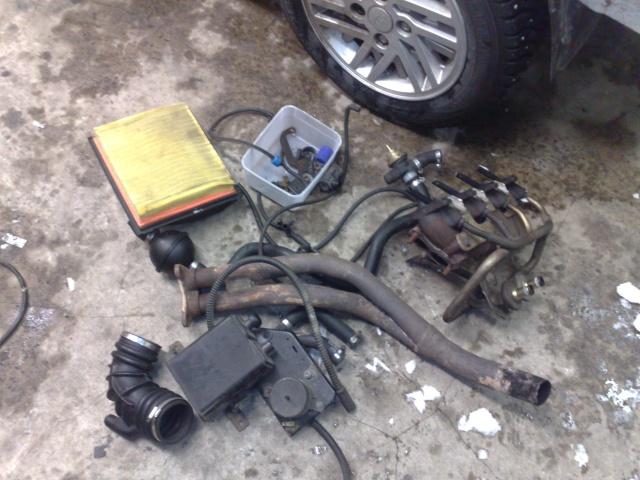 """Eriksson - Ford Sierra Turbo -88  """"The End""""  eller hittar jag en ny kaross?  - Sida 12 20100213"""