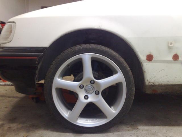 """Eriksson - Ford Sierra Turbo -88  """"The End""""  eller hittar jag en ny kaross?  - Sida 12 20100410"""