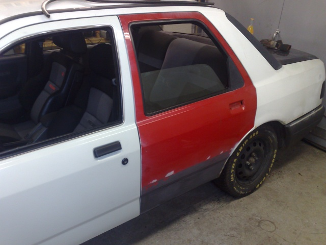 """Eriksson - Ford Sierra Turbo -88  """"The End""""  eller hittar jag en ny kaross?  - Sida 13 20100428"""