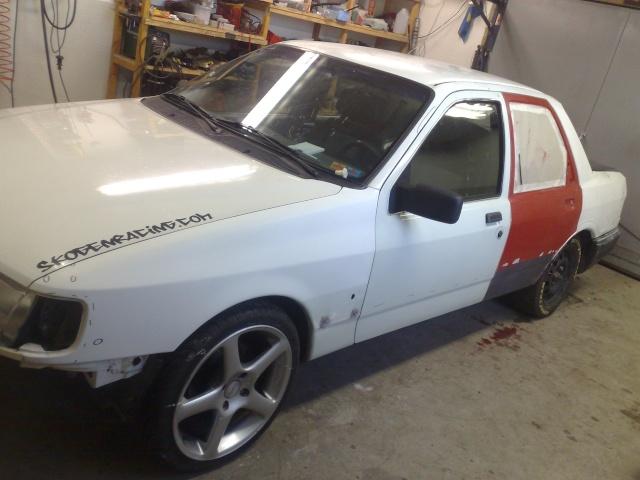 """Eriksson - Ford Sierra Turbo -88  """"The End""""  eller hittar jag en ny kaross?  - Sida 13 20100510"""