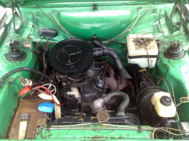 Eriksson - Ford Escort MkII  (dags för besiktning) 20100516