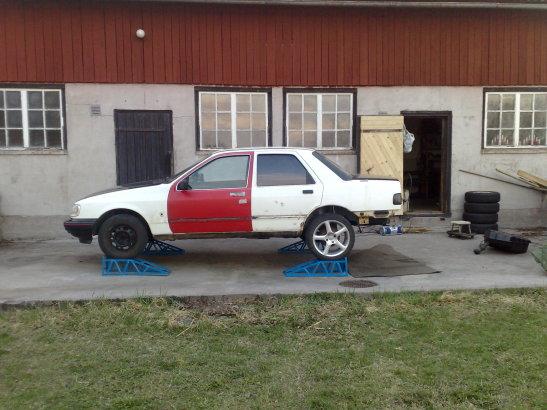 """Eriksson - Ford Sierra Turbo -88  """"The End""""  eller hittar jag en ny kaross?  - Sida 3 78341_10"""