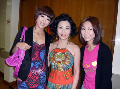 [28 April 2009] Myolie attended Stephan Chan Live on Stage 20090440