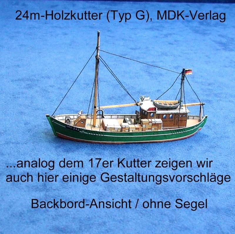 24 m Kutter Gestaltungsvorschlag / MDK Bild_110