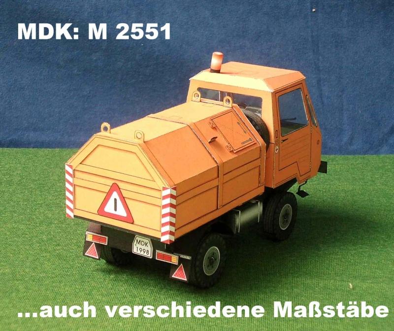 Multicar – Neuheiten von MDK M_255112