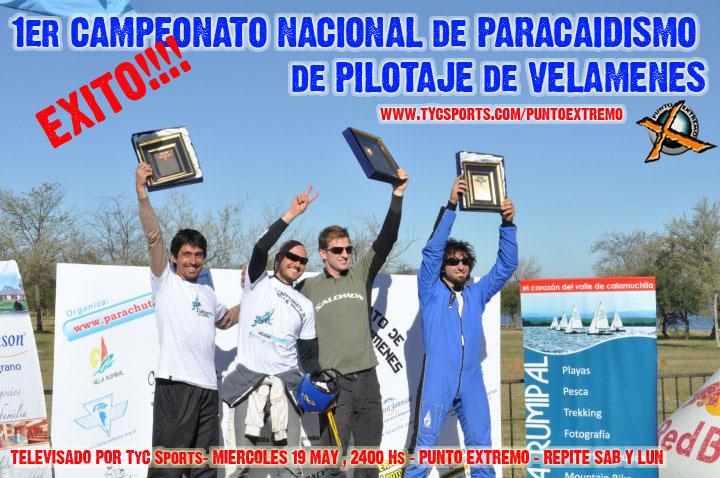 Campeonato Encuentro en Rumipal Podio212