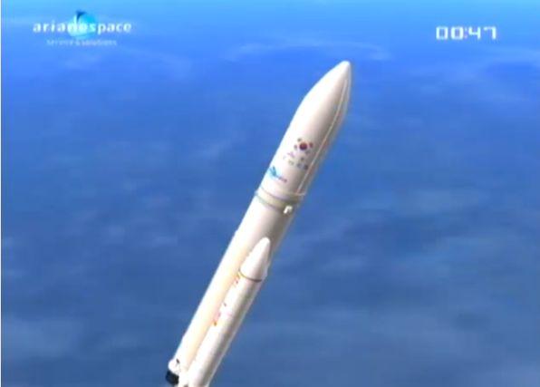 Ariane 5 ECA V195 : Arabsat 5A + COMS 1 (26/06/2010) - Page 11 Capt_100